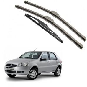 Kit Palhetas Dianteira e Traseira para Fiat Palio Ano 1996 A 2011