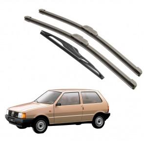 Kit Palhetas Dianteira e Traseira para Fiat Uno Ano Antigo 1984 A Atual