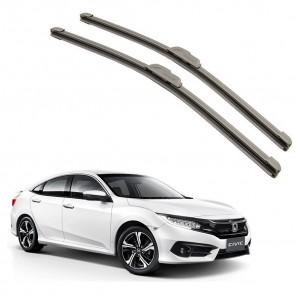Kit Palhetas para Honda Civic Ano 2017 - Atual