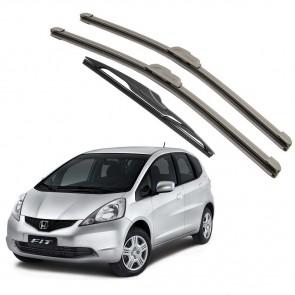 Kit Palhetas Dianteira e Traseira para Honda New Fit 2009 A 2014