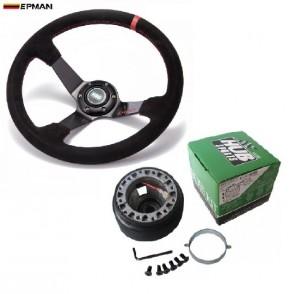 Kit Volante Esportivo Epman + Cubo Hub para Honda