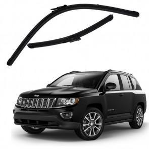Kit Palhetas para Jeep Compass Ano 2012 - Atual