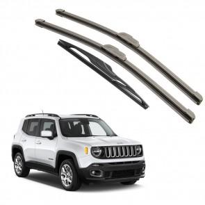 Kit Palhetas Dianteira e Traseira para Jeep Renegade 2016 A Atual