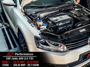 Reprogramação Volkswagen Jetta TSi 200cv