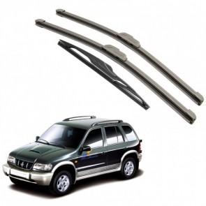 Kit Completo Palhetas Dianteira e Traseira para Kia Sportage Ano 1993 - 2003