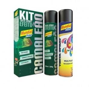 Kit Tinta Spray Camaleão
