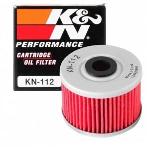 Filtro de Óleo K&N para motos KN-112