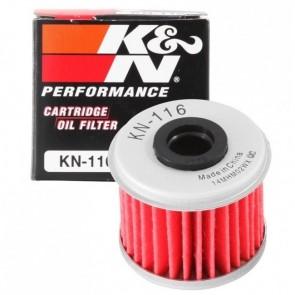 Filtro de Óleo K&N para motos KN-116