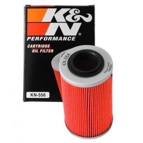 Filtro de Óleo K&N para motos KN-556