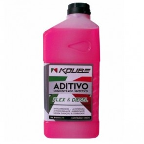 Fluido para Radiador Concentrado Sintético (Flex e Diesel) Koube 1L