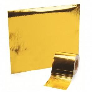 Manta Refletiva 30cm x 10m - Gold Tape (Dourado)
