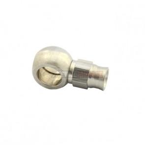 Conexão tipo Banjo 3AN / AN3 para Parafuso M12 - 11.2mm Reta para Mangueira PTFE  - Inox