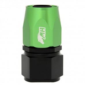 Conexão 12AN / AN12 Reta para Mangueira Aeroquip - Colors (Corpo Preto - Porca Verde)