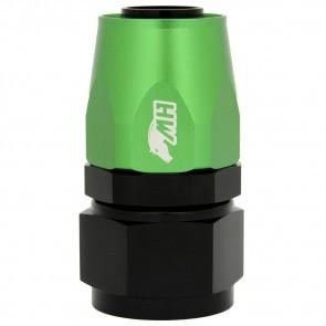 Conexão 16AN / AN16 Reta para Mangueira Aeroquip - Colors (Corpo Preto - Porca Verde)