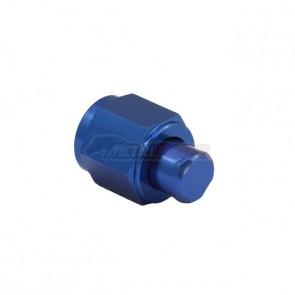 Tampão AN Cônico Fêmea 6AN / AN6 - Azul