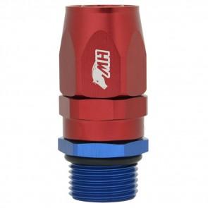 Conexão Giratória O'ring 12AN / AN12 Reta para Mangueira Aeroquip 12AN / AN12 - American Edition (Azul e Vermelha)