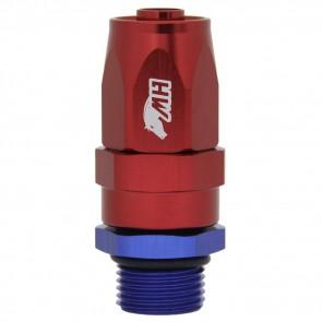 Conexão Giratória O'ring 8AN / AN8 Reta para Mangueira Aeroquip 8AN / AN8 - American Edition (Azul e Vermelha)