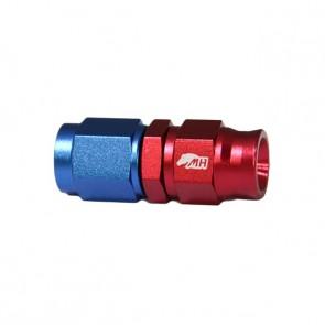 Conexão 3AN / AN3 Reta para Mangueira PTFE - American (Azul e Vermelha)