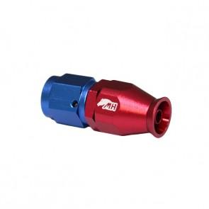 Conexão 4AN / AN4 Reta para Mangueira PTFE - American (Azul e Vermelha)