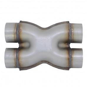 "Tubo X-pipe de 3"" - Inox"