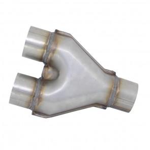 """Tubo Y-pipe de 2-1/2"""" - Inox"""
