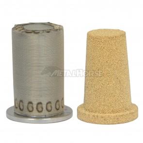 Refil / Elemento Filtrante em Inox ou cobre para Filtro de Combustível - 30 ou 150 microns