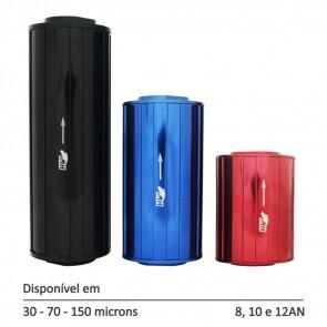 Filtro de Combustível Linha Street P, M e G - 8AN 10AN 12AN - 30, 70 e 150 Micra - Azul, Preto e Vermelho