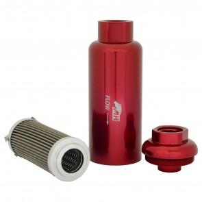 Filtro de Combustível Especial Para Alta Vazão 10AN / AN10 - 10 Microns - Vermelho