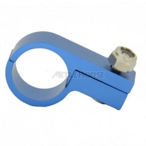 Fixador de Mangueira c/ Porca Travante 8AN / AN8 - Azul