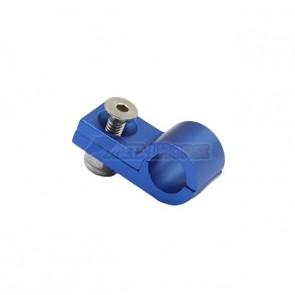 Fixador de Mangueira c/ Porca Travante 3AN / AN3 - Azul
