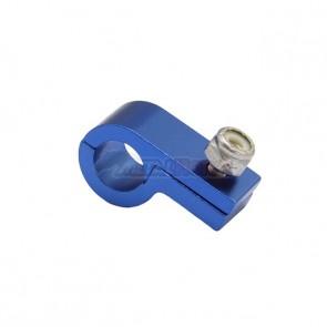 Fixador de Mangueira c/ Porca Travante 4AN / AN4 - Azul