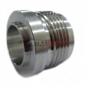 Niple para Soldar Macho Cônico 16AN / AN16 - Alumínio