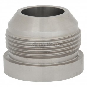 Niple para Soldar Macho Cônico 20AN / AN20 - Aço