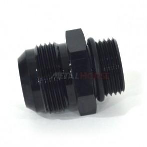 Adaptador O'ring 12AN / AN12 para 16AN / AN16 Macho Cônico - Preto