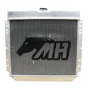 Radiador de Água Racing Completo com Ventoinha para Ford Mustang V8 302 69-70 - Montagem Original