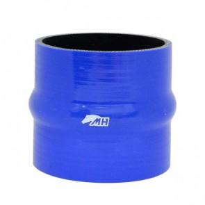 """Mangote em Silicone Reto com Hump 4"""" polegadas (102mm) x 100mm - Azul"""