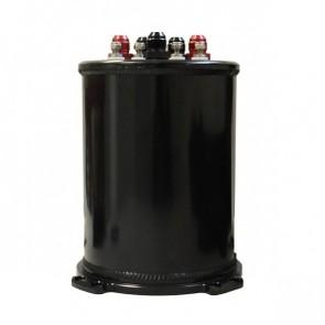 Sistema Completo de Surge Tank de 3L para Duas Bombas Internas - Preto