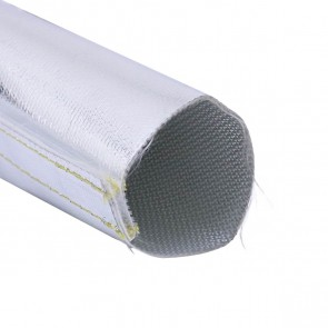 "Conduite Térmico Aluminizado 2"" polegadas com Velcro (51mm) x 3m - Heat Sleeve"