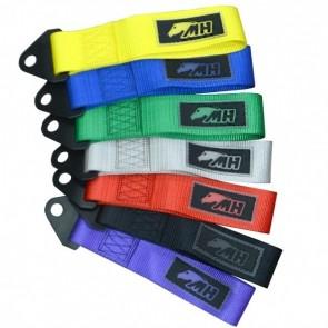 Engate Reboque Reforçado Curto de Tecido Tow Strap - Cores Disponíveis