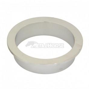 """Flange 100% Inox para Abraçadeira tipo V-Band / V-Clamp de 4"""" polegadas"""