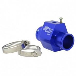 """Adaptador Fêmea NPT 1/8"""" para Sensor de Água com Entradas e Saídas 26mm - Azul"""