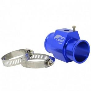 """Adaptador Fêmea NPT 1/8"""" para Sensor de Água com Entradas e Saídas 30mm - Azul"""