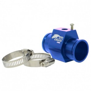 """Adaptador Fêmea NPT 1/8"""" para Sensor de Água com Entradas e Saídas 32mm - Azul"""