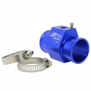 """Adaptador Fêmea NPT 1/8"""" para Sensor de Água com Entradas e Saídas 34mm - Azul"""