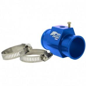 """Adaptador Fêmea NPT 1/8"""" para Sensor de Água com Entradas e Saídas 36mm - Azul"""