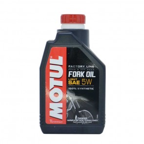 Óleo Motul Fork Oil Factory Line 5W 1L