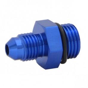 Niple Adaptador Oring 6AN Cônico 4AN - Azul