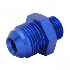 Niple Adaptador Oring 6AN Cônico 8AN - Azul