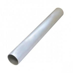 """Tubo em Aluminio Reto 3"""" polegada x 500mm - Sem Acabamento"""