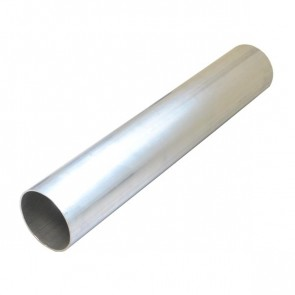 """Tubo em Aluminio Reto 4"""" polegada x 500mm - Sem Acabamento"""